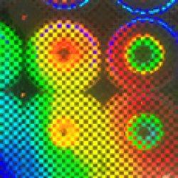 画像1: ホログラムフィルム KP4 600mm幅(メーター売り)