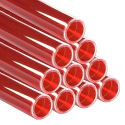 画像1: レインボースリーブ FL110W用 赤 10本セット
