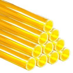 画像1: レインボースリーブ FL40W用 黄 10本セット