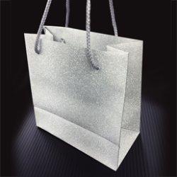 画像1: シンデレラグリッター手提げバッグS